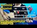 Chord Gitar Usai Sudah Kangen Band - Kumpulan Chord Dan Lirik By Darmawan Gitar