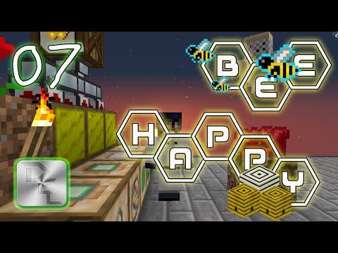 Minecraft Mod Pack Bee Happy - Episode 7 - Redstone in Bee Happy