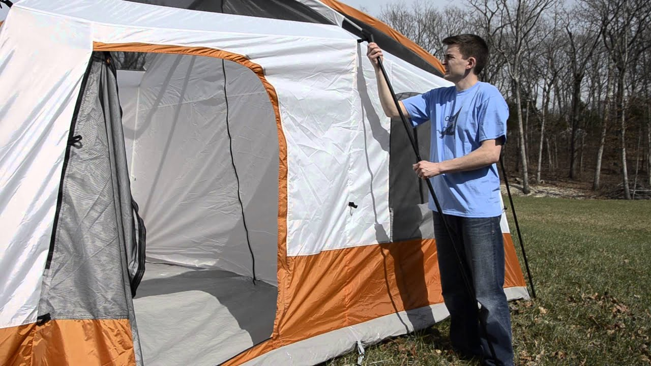 Cedar Ridge Rimrock 2 Room - How to Set Up : two room tent - memphite.com