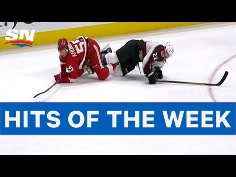 NHL Hits of The Week: Week 9 - Motor City Madness