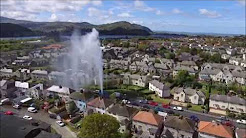 llandudno junction water main burst