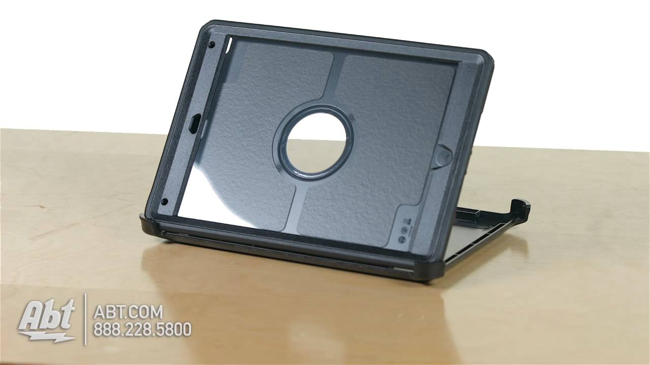 the best attitude 71f6a bc145 OtterBox Black Defender Series Case For iPad Air 2 77-50969 - Overview