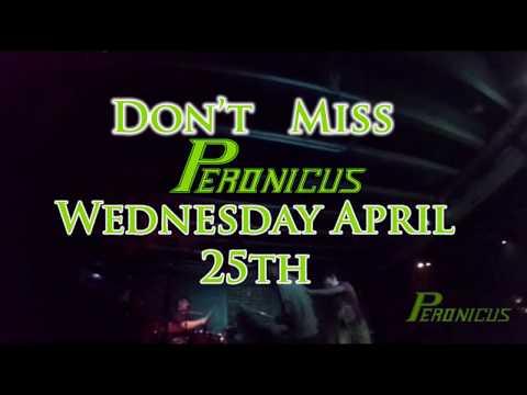 Peronicus Live Wednesday April 25th @Cafe Dekcuf Ottawa,ON