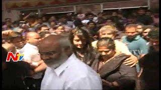 Rajamouli and Anushka Hungama at Bramaramba Theater || Baahubali 2 || NTV
