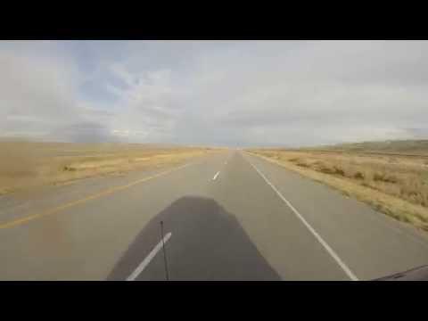 Salt Lake City, UT to Cheyenne, WY GoPro Time Lapse