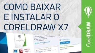 Como baixar e instalar o CorelDraw X7 - HD