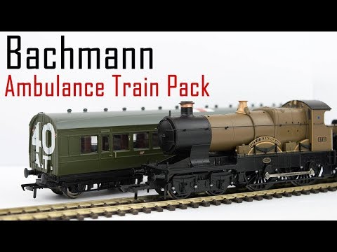 Unboxing the Bachmann WW1 Ambulance Train Pack