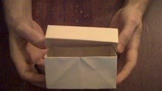 Шкатулка из бумаги оригами  Stash Paper Origami(По этому видео вы можете сделать шкатулку из бумаги, для этого вам понадобится бумага А4. Здесь показано..., 2014-03-13T12:27:36.000Z)