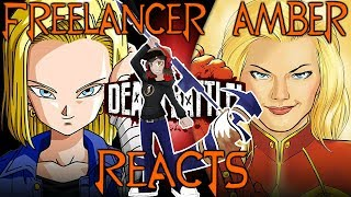 Android 18 vs Captain Marvel Reaction || Battle Of The Blondes