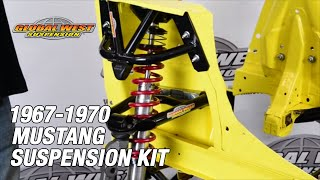 1967-70 Mustang Street and Drag Application Suspension Kit Tutorial