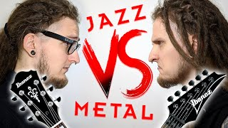 JAZZ VS METAL - EṖIC GUITAR BATTLE!