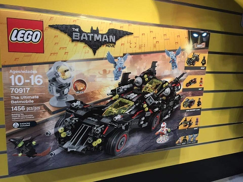 LEGO UK 70917 The Ultimate Batmobile Construction Toy
