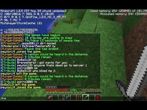 Minecraft The Hunger Games 003