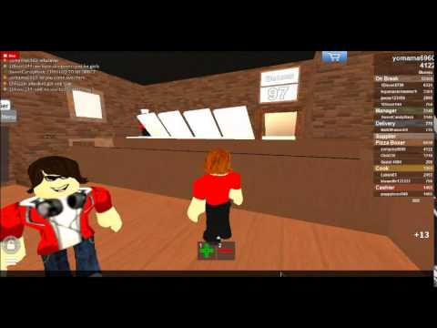 Roblox Work At A Pizza Place Secret Room 2014 Youtube
