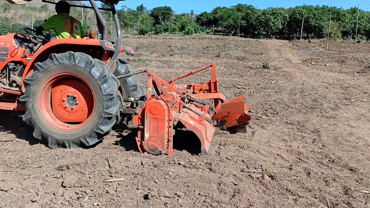 การเตรียมแปลงเกษตรแนวก้าวหน้า เพื่อปลูกพืช