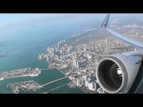 Absolutely Phenomenal First Class HD 767 Morning Takeoff From Miami On American Airlines!!!