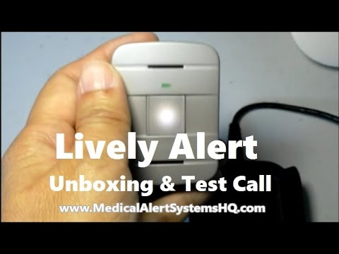 Lively Alert By Great Call - Unboxing & Test Call