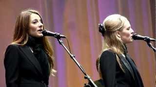 Leonard Cohen - The Webb Sisters - Come Healing - Helsinki, Finland - 02092012