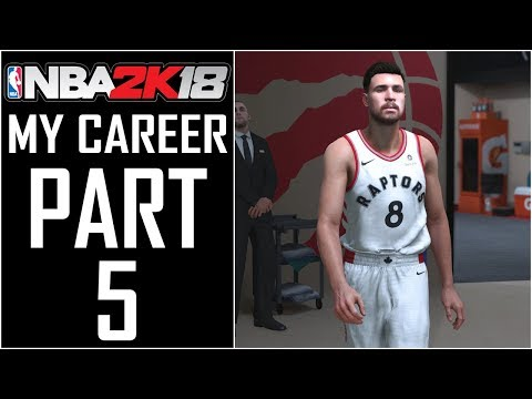 """NBA 2K18 - My Career - Let's Play - Part 5 - """"My First NBA Game"""""""