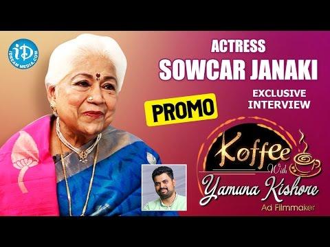 Actress Sowcar Janaki Exclusive Interview...