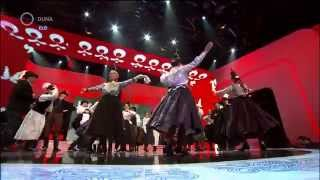 Repeat youtube video Forrás Néptáncegyüttes - Fölszállott a páva, harmadik elődöntő
