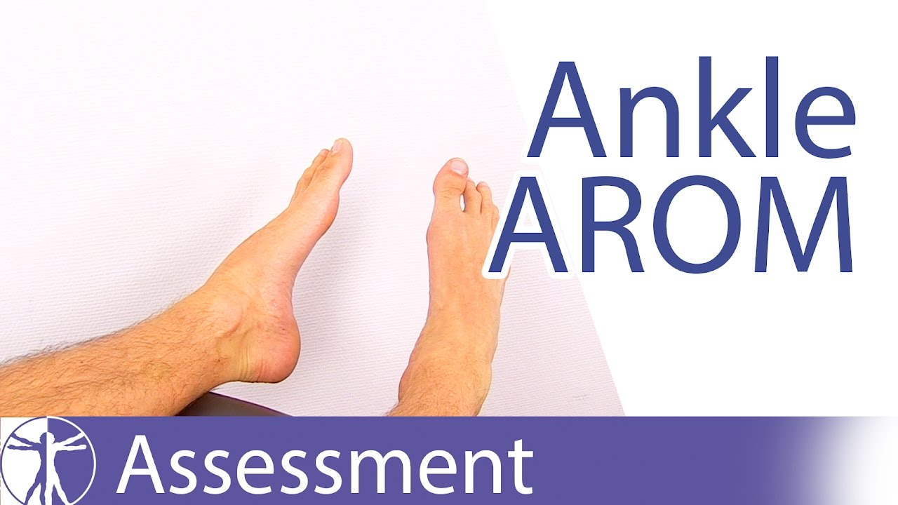 Active Range Of Motion Ankle Foot Youtube