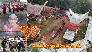 Rambu solo\x27 di puncak tertinggi di Patua\x27 Sangalla\x27 Toraja