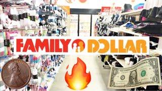 FAMILY DOLLAR SHOPPING!!! *I F…