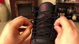 How to lace Air jordan 12 (2 ways)