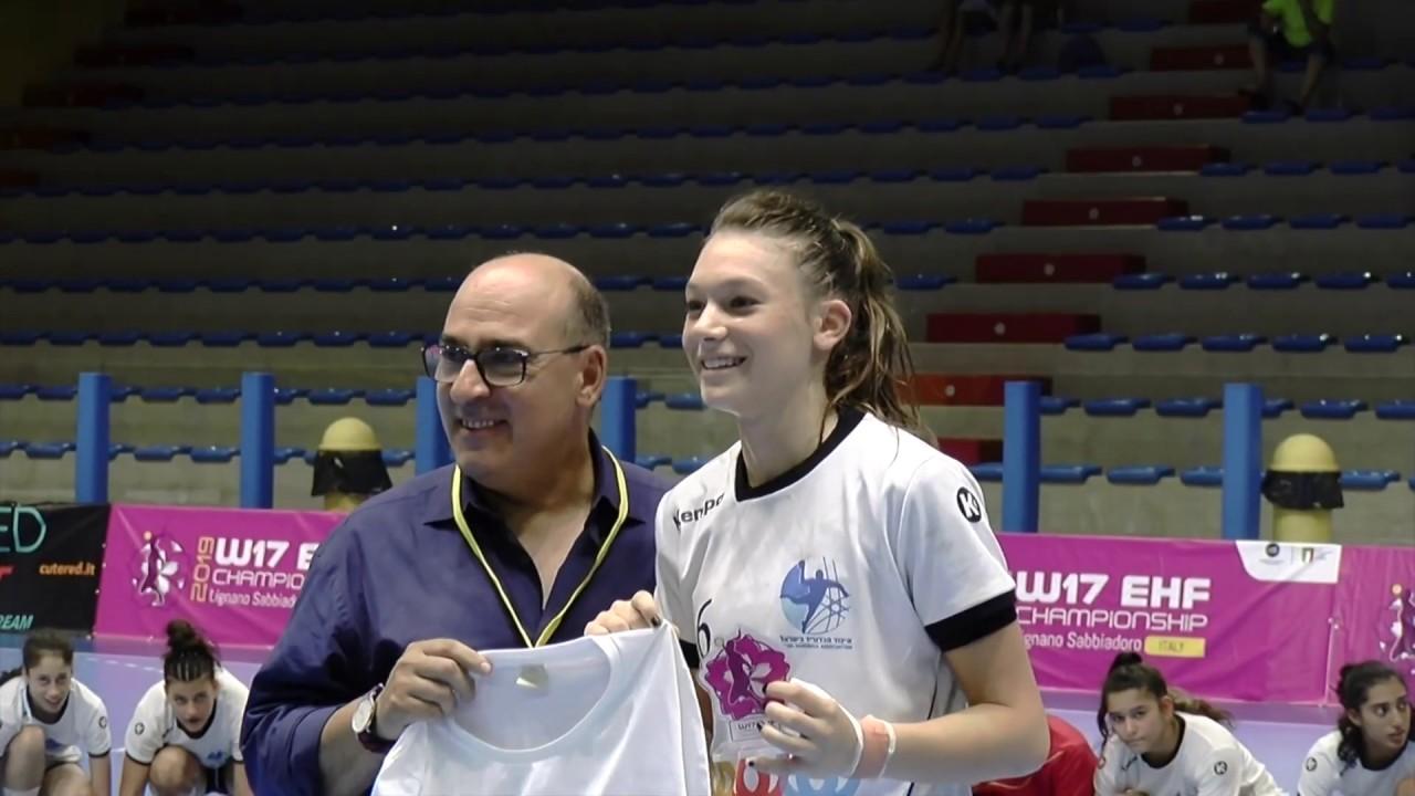 W17 EHF Championship - Interviews KOS - ISR 18-25