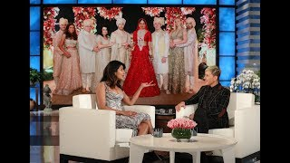 In her first TV interview since marrying Nick Jonas, Priyanka Chopra Jonas opened up about their multiple wedding celebrations, how Nick made the first move by slipping into her DMs, and Ellen found really old footage proving Priyanka's longtime admiration for her now husband.  #TheEllenShow #PriyankaChopra #NickJonas