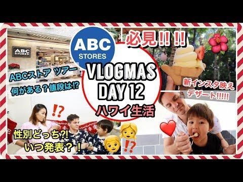 ハワイのABCストア 買い物 密着!!!!!!!【Vlogmas Day 12】ハワイ主婦 生活 |海外出産 妊娠|国際結婚