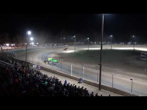 19. Late Model B Feature at Crystal Motor Speedway, 04-15-17