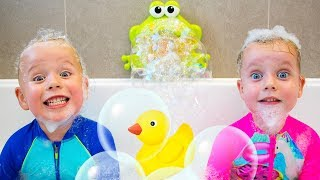 Bath Song More Nursery Rhymes Kids Songs By Gaby And Alex
