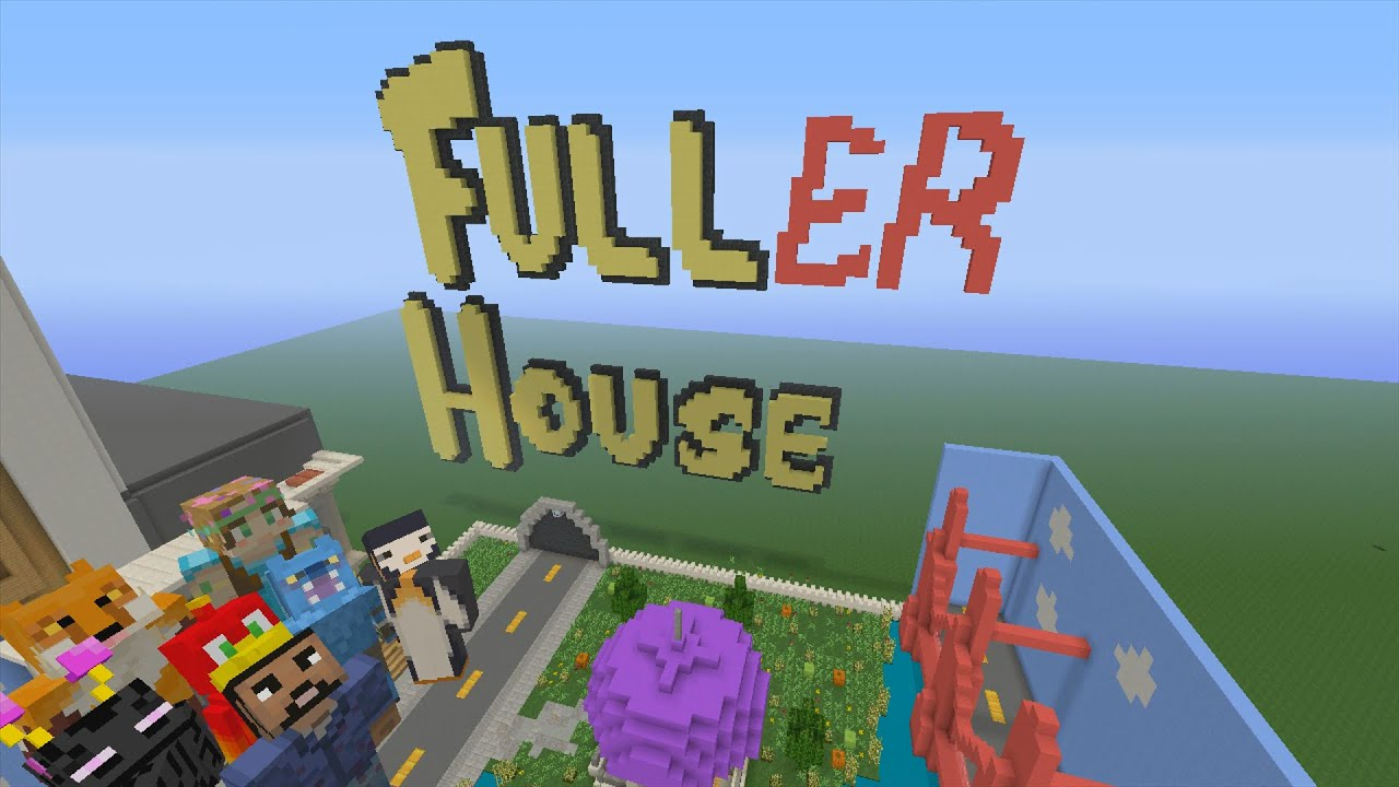 Minecraft Xbox Hide and Seek Fuller House YouTube