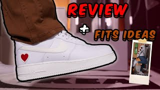Nike Air Force 1 Low Valentines Day 2021 Review/How To Style!!!!