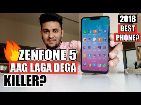 Asus Zenfone 5 First Look - Aag Laga Dega! | Redmi Note 5 Pro Killer?