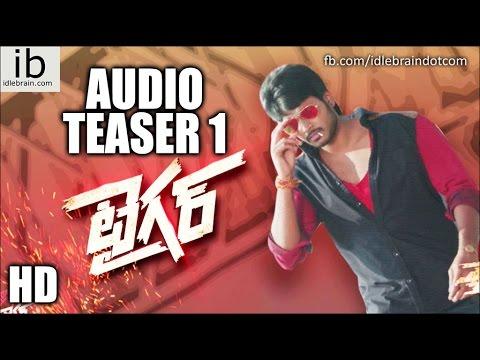 Sundeep Kishan's Tiger audio teaser 1 - idlebrain.com