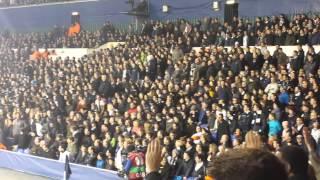 Tottenham fans singing park lane tottenham