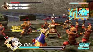 Dynasty Warriors 6 - PS2 - Zhen Ji - Gameplay 3 - Full HD