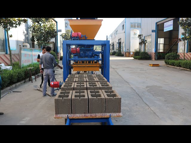 maquina vibrocompactadora para hacer bloques adoquines  de cemento en chile,peru, Ecuador, Guatemala