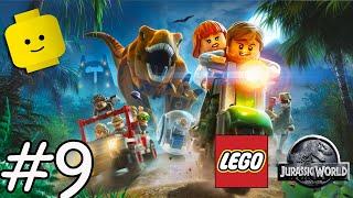 Jurassic Park - Dinosaurs Cartoon Games Videos for Kids Children - LEGO Jurassic World Part 9