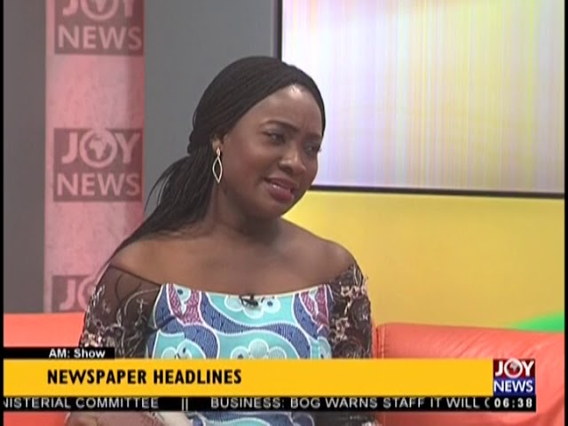 Government To Lift Ban On Small-Scale Mining Soon - AM Show Headlines on JoyNews (17-8-18)