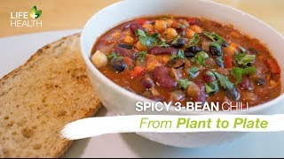 Spicy 3 Bean Chili