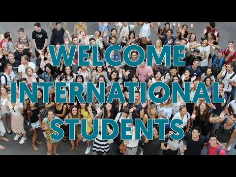 Welcome to international students !