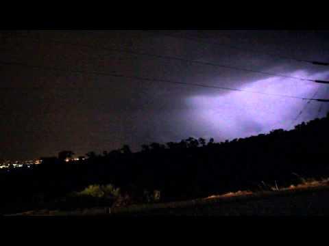 Lightning in Perth WA