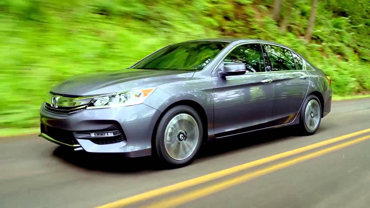 2016 honda accord ex l v6 sedan driving video automototv. Black Bedroom Furniture Sets. Home Design Ideas