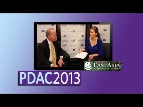 East Asia Minerals investors should look to upside with dividends from exit strategies - PDAC2013
