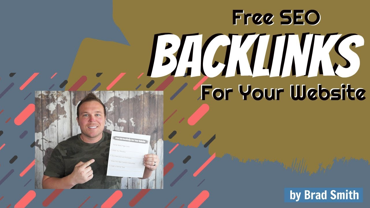 Free SEO Backlinks For Your Website