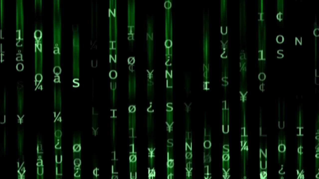 Falling Matrix Wallpaper Free Motion Backgrounds Quot The Matrix Quot Youtube